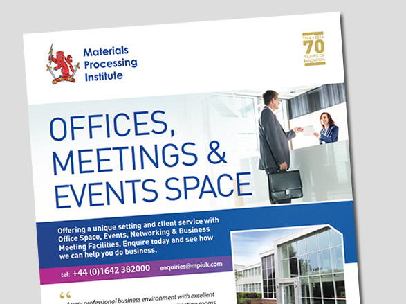 Offices, Meetings and Events Space leaflet