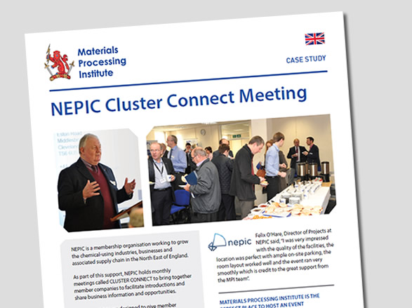 NEPIC Cluster Connect Meeting
