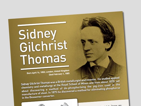 Sidney Gilchrist Thomas Biography