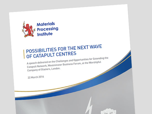 Possibilities for the Next Wave of Catapult Centres - 22 March 2016