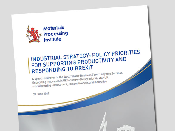 Policy Priorities for Supporting Productivity and Responding to Brexit - 21 June 2018