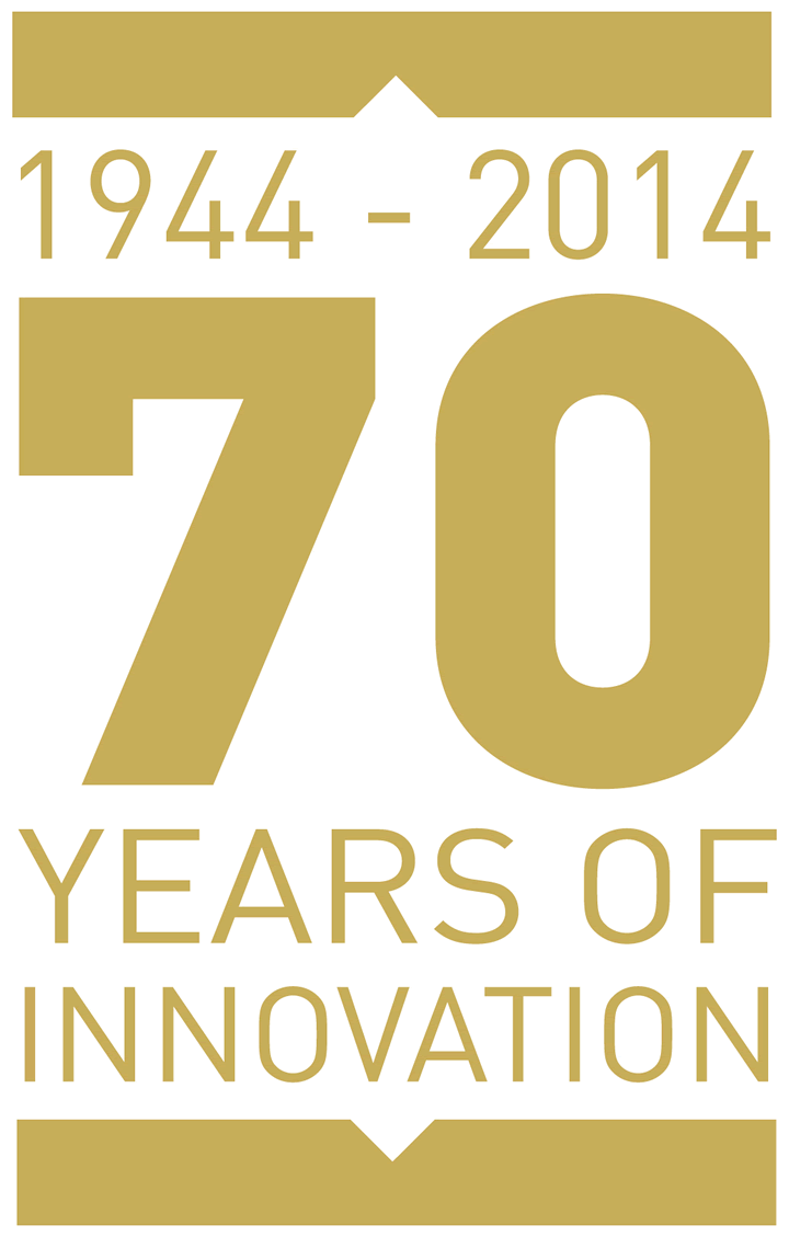 1944-2014. 70 Years of Innovartion