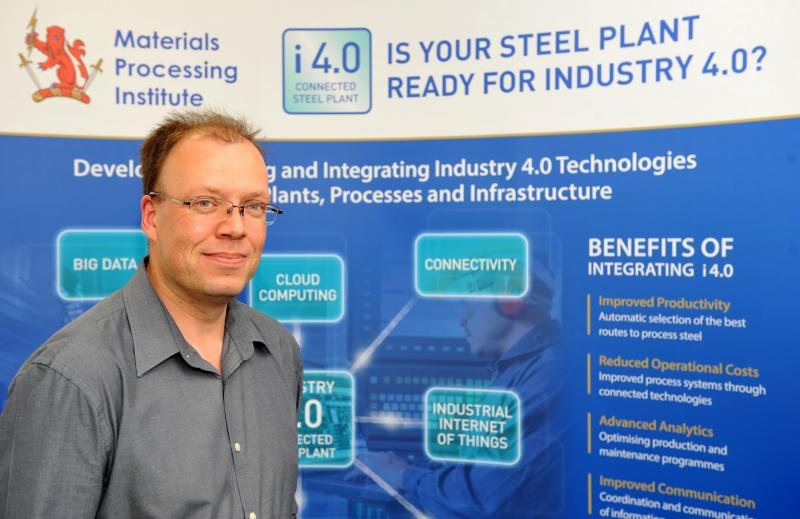 Integrating Industry 4.0 to Steel Plants