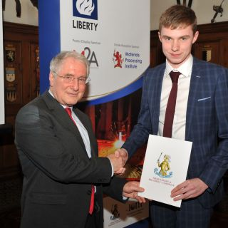 Teesside student is named as latest Millman Scholar by Materials Processing Institute