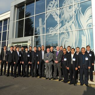 Chinese Industrial Delegation Visits Materials Processing Institute