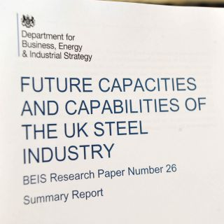 UK Steel Sector - Institute contributes to the 'future of the UK steel industry' Report