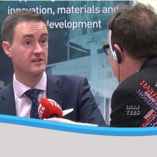 BBC Tees Interview with Chris McDonald and Tees Valley Mayor
