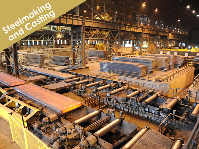 Steelmaking and Continuous Casting