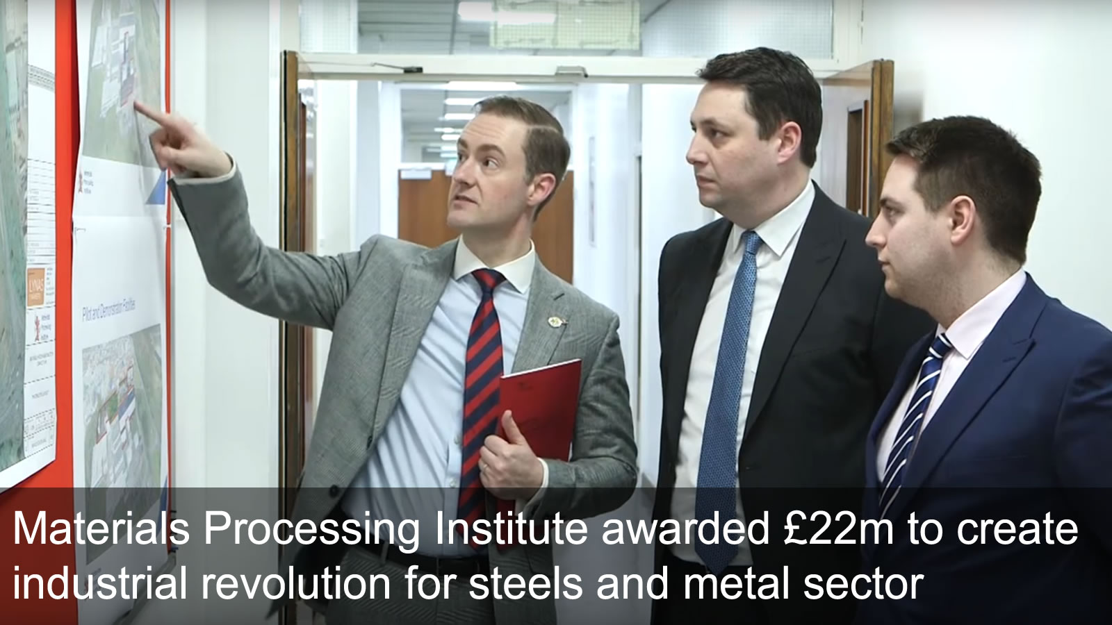 Materials Processing Institute awarded £22m to create industrial revolution for steels and metal sector - March 2020