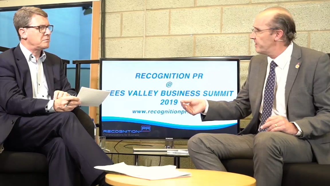 Tees Valley Business Summit Interview with Andrew Cargill - July 2019