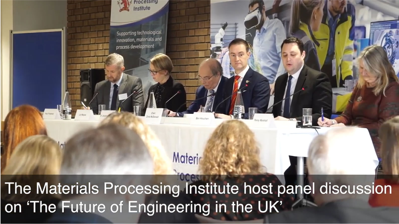 The Materials Processing Institute host panel discussion on 'The Future of Engineering in the UK' - January 2020
